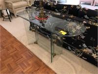 Glass Sofa Table
