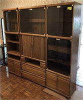 Entertainment Center With Display Cabinets