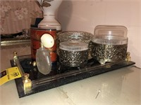Lot Of Decorative Items & Perfume