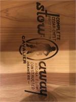 Cavalier Three Drawer Locking Cedar Chest