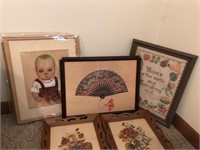 Lot Of Decorative Framed Pictures