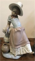 """Lladro no. 5158  """"Young Coloured Girl"""" Figurine"""