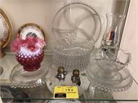 Lot Of Decorative Glassware and More