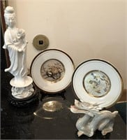 Lot of Chinese Decorative Glass Items