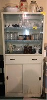 Vintage Metal Cabinet Does NOT include contents