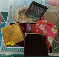 Large lot of vintage shower curtains and more