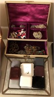 Lot of Vintage Jewlery and Empty Boxes