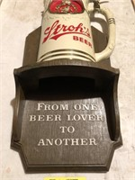 Vintage Stroh's Beer Sign
