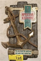 Vintage Special Export Advertising Sign