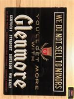 Vintage Glenmore Whiskey Sign