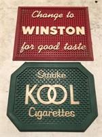 Vintage Advertising Lot  Includes Bar Mats,