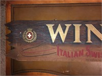 Vintage Wood Italian Swiss Colony Wines