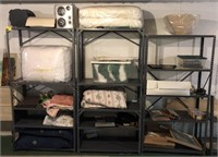 Shelving Unit Section With Contents