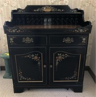 Vintage Ethan Allen Bar With Contents