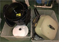 Large Lot Of Pots, Pans, And More