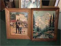 Lot Of Framed Art