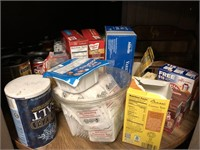 Kitchen Canisters, Cans Of Food, and More