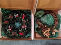 Large lot of Christmas decorations. Includes