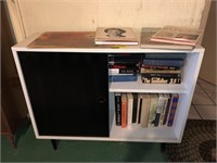 Mid Century Book Shelf / Cabinet With