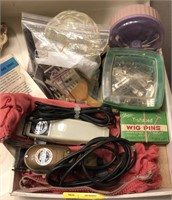 Lot Of Vintage Beauty Supplies