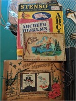 Vintage photo albums and more