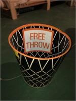 Vintage Free Throw Waste Basket