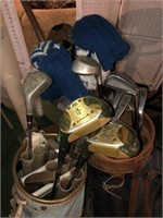 Lot Of Golf  Clubs