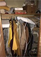 Contents Of Closet Includes Vintage Clothes,