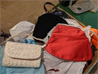 Large lot of purse's and more