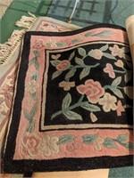 Large lot of floor rugs