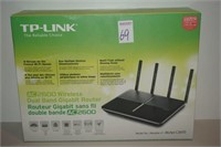 TP-LINK AC 2600 WIRELESS DUAL BAND GIGABIT ROUTER