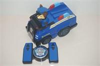 PAW PATROL REMOTE CONTROL POLICE CAR