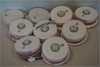 LOT OF 7 KIDDE P4010ACLEDSCA HARDWIRED BATTERY