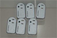LOT OF 6 CE SMART HOME WIFI PLUG