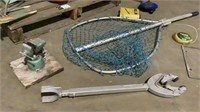 Assorted Boating Equipment and Sink-