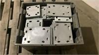 (approx qty - 60) Metal Plates-