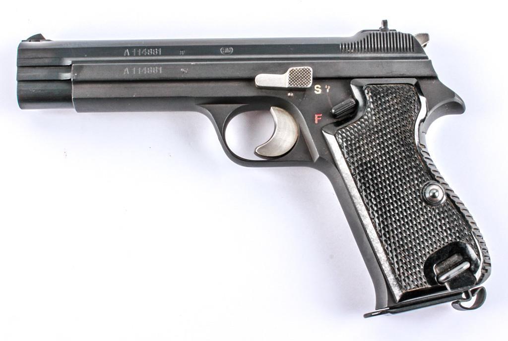 Gun Swiss Military SIG Arms P210-2 9mm SA Pistol   AZFirearms com