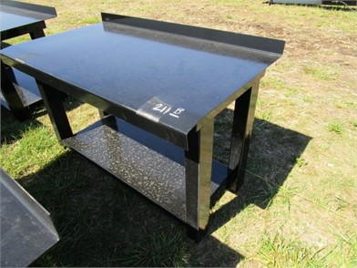 New/Unused Steel Table W/Back Splash & Shelf Other Auction