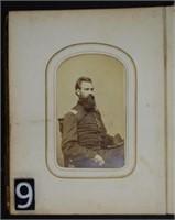 Civil War Cabinet Photo Album -