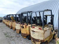 33 fork trucks from the Navy