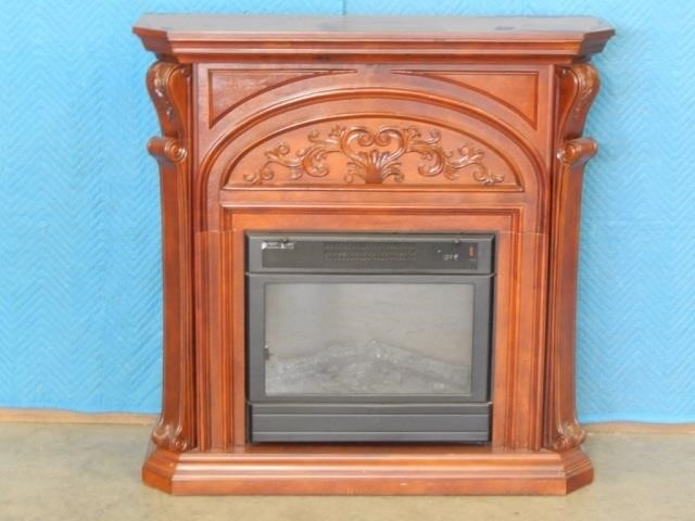 Febo Flame Electric Fireplace With Remote United Country Musick