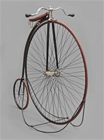 C. 1885 Victor High Wheel Ordinary Bicycle