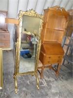 floor mirror - w/ metal stand