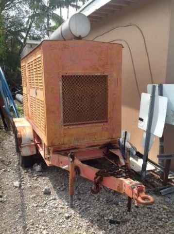 DMT Generator 180 KW / John Deere Diesel Engine   Bidera LLC