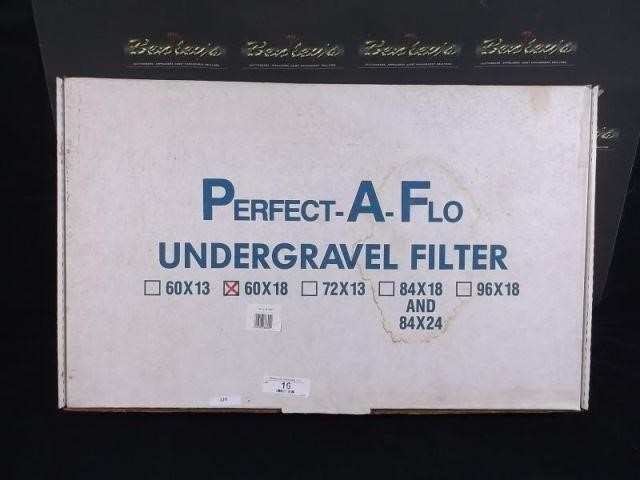 Perfect A Flo Under Gravel Filter 60 X 18 Hibid Auctions