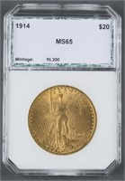 February 28th Coin, Furniture & Decorative Arts Auction