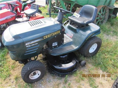 Craftsman Lt1000 For Sale 4 Listings Tractorhouse Com >> Craftsman Lt1000 Riding Mower Runs Other Auction Results 1