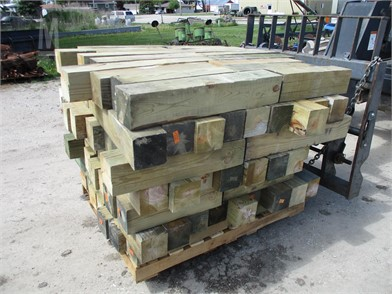 Treated Lumber Parts / Accessories Shop / Warehouse Auction