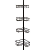 ZENITH HOME TENSION CORNER POLE CADDY