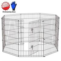 "PET FENCE COVER 25""H  WITH GROOMING GLOVES"